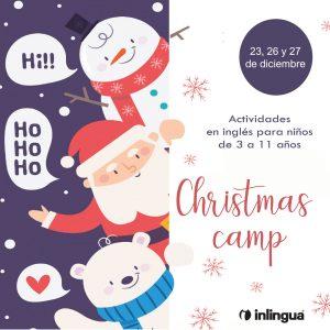 campamento de navidad en ingles