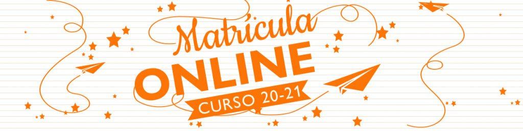 matricula curso 2020-21