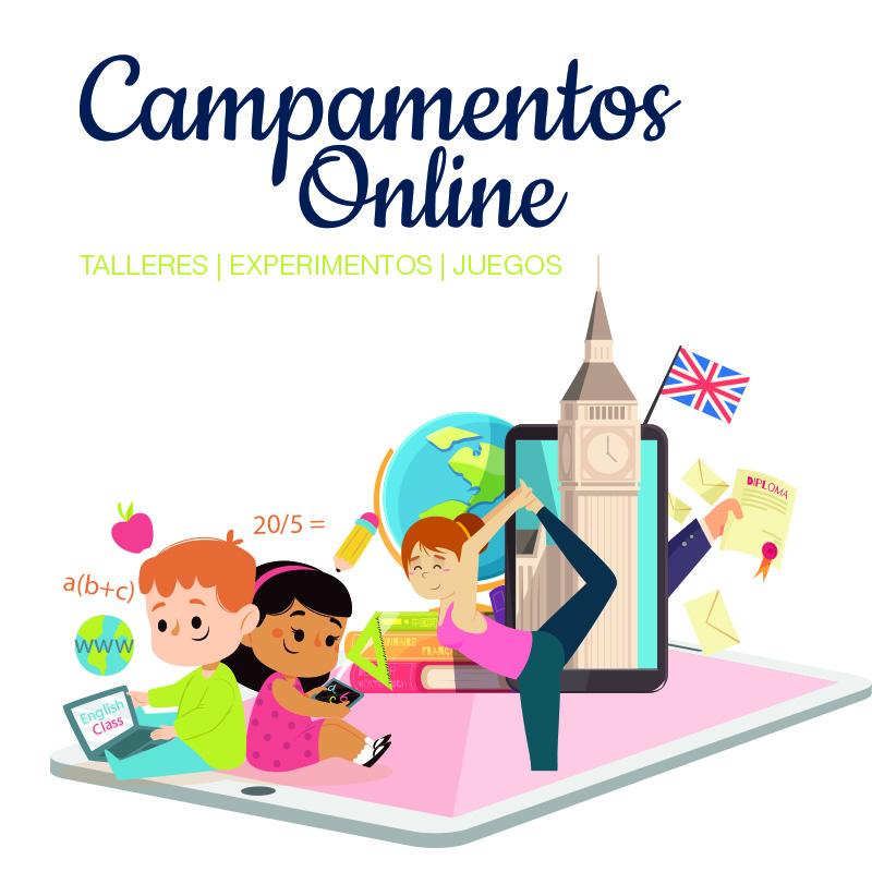 Campamentos de verano online