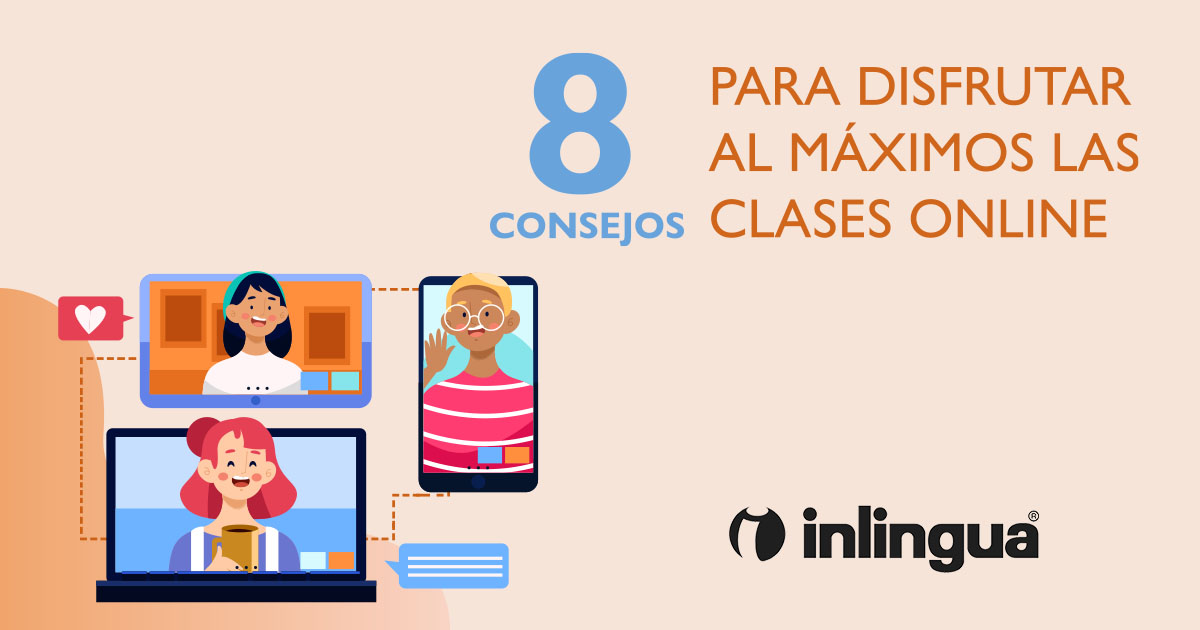 8 CONSEJOS CLASES ONLINE