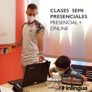 CLASES SEMI PRESENCIALES INGLÉS