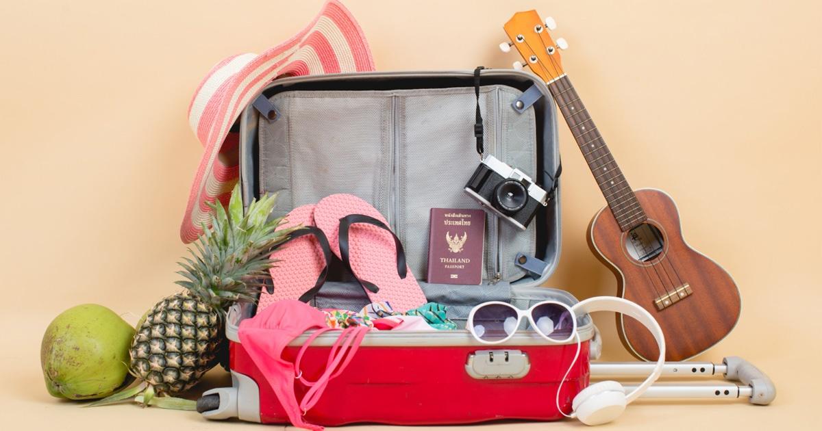 equipaje verano